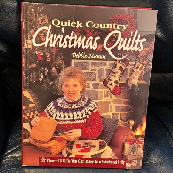 Quick Country Christmas Quilt Book